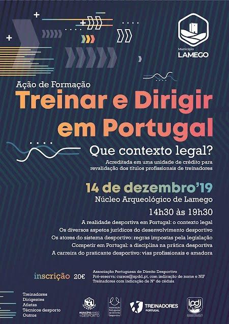"""Lamego recebe formação """"Treinar e Dirigir em Portugal"""""""