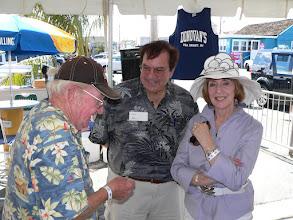 Photo: Dick Vivian, Sal & Maeve Alini