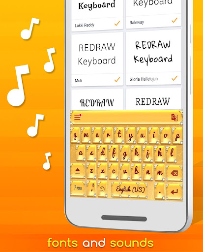 Redraw Keyboard Emoji & Themes app (apk) free download for Android/PC/Windows screenshot