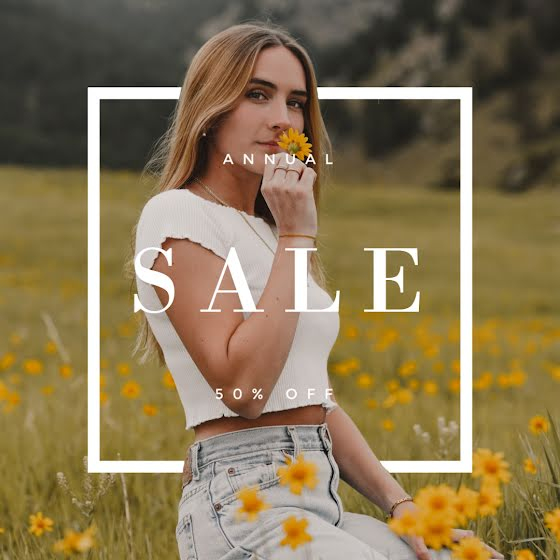 Sale in the Meadow - Instagram Post Template