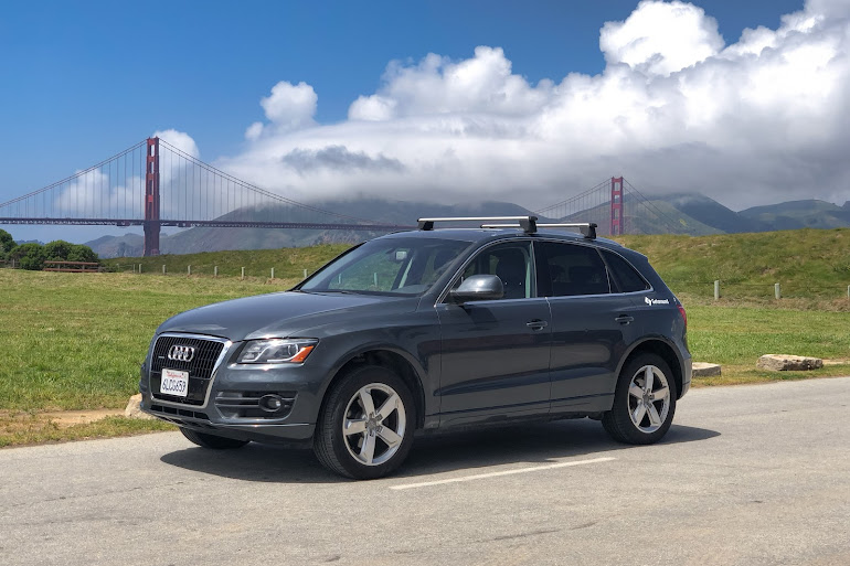 rent a gray audi q5 in san francisco - getaround