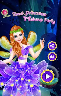 Forest Fairy Princess Makeup Salon - náhled