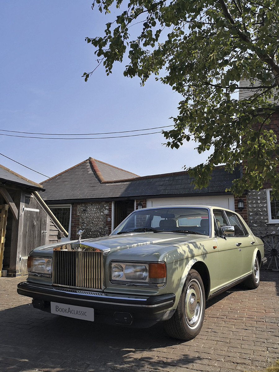 Rolls-royce Silver Spirit Hire Reading