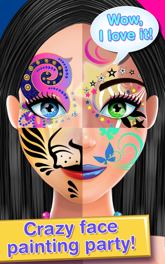Face paint costume party salon android apps on google play face paint costume party salon screenshot sciox Images