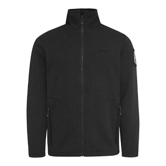 Weather Report Henrik Fleece Jacka Man Black Stl L