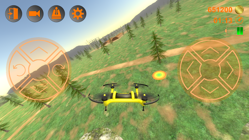 Amazing Drones - 3D Simulator Game ss1