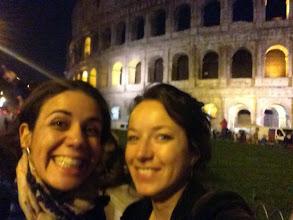 Photo: Selfie devant le Colisée