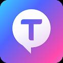 Talktok - Social app for Making friends, Meeting icon