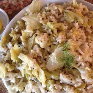 Lahanorizo (Cabbage and Rice).