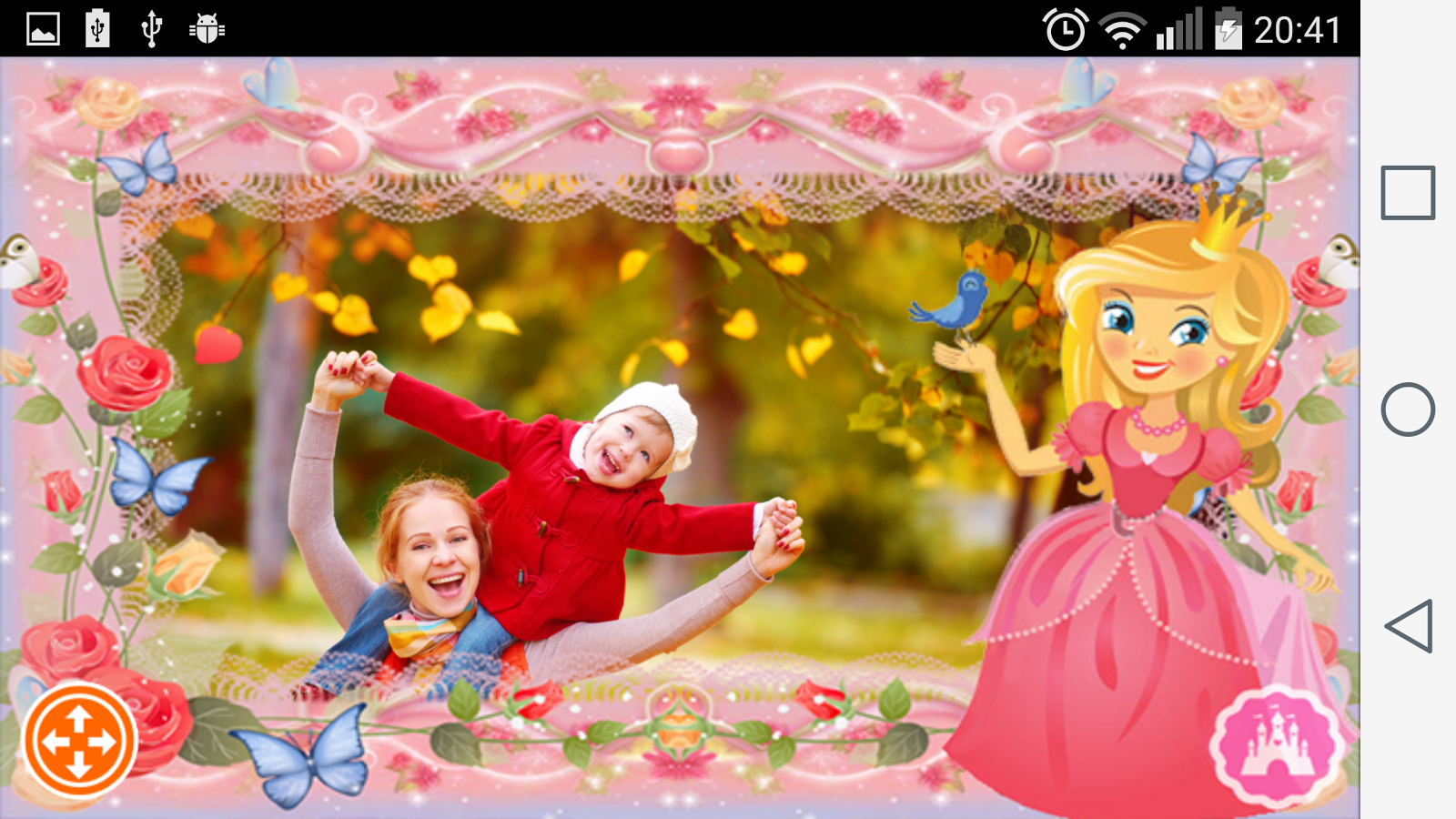 Princess photo frames android apps on google play princess photo frames screenshot jeuxipadfo Choice Image