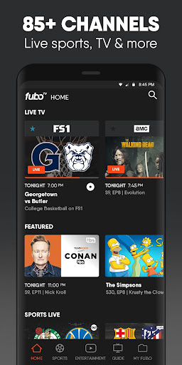 fuboTV: Watch Live Sports, TV Shows, Movies & News 4.12.1 screenshots 1