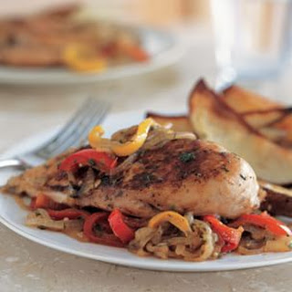 Balsamic Chicken & Peppers
