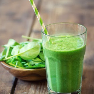 Copycat Jamba Juice Apple 'N Greens Smoothie.