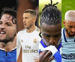 Les notes des Belges à l'étranger: Hazard et Mertens au top, Boyata dans le dur