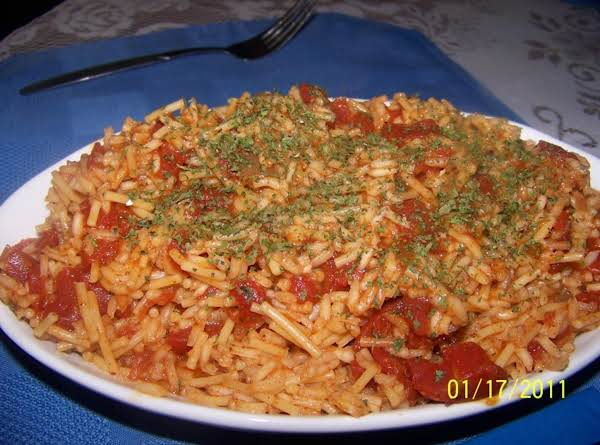 Zesty Spanish Rice