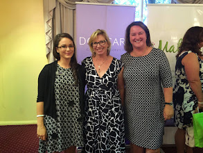 Photo: With Kat Georgakopoulos, and Australian of the Year, Rosie Batty at the iMatter family violence
