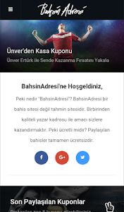 BahsinAdresi screenshot 0