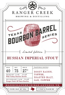 Logo of Ranger Creek Texas Bourbon Barrel Russian Imperial Stout