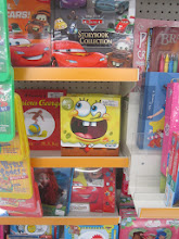 Photo: Ah, found the first thing on my list - something Spongebob! And this is a great set of 6 books for only $10.88!