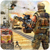 3D Train Gunner Shooting