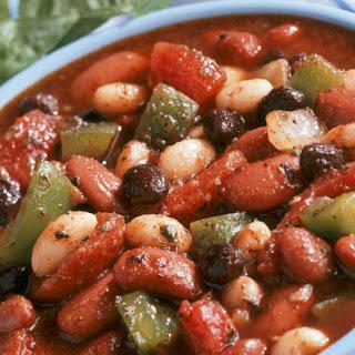 California Three Bean Chili.