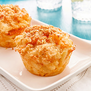 Mac & Cheese Muffins.