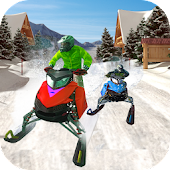 Speed Bike Snow Racing 2017