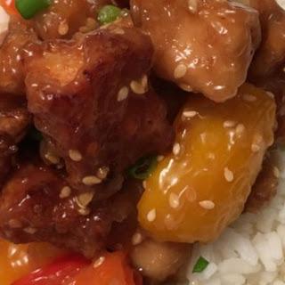 Perfect Sesame Chicken.