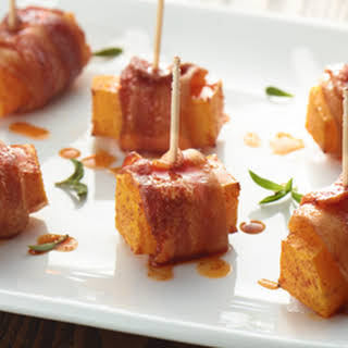 Bacon Wrapped Butternut Squash.