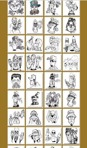 Drawing Graffiti Characters 1.1.2 screenshots 3