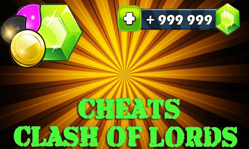 Cheats For Clash Of Lords Prank for PC