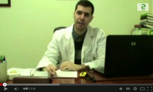 Imagen de la entrevista realizada a Rafael Cortés, psicooncólogo de Aecc de Talavera de la Reina
