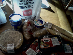 Photo: Here is some of what I picked up at Save Mart, these items were for our family dinner. *This shop has been compensated as part of a social shopper insights study for Collective Bias. #CBias.