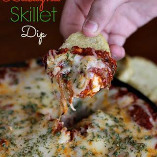 Layered Lasagna Skillet Dip