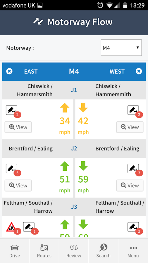 Live Traffic Info- screenshot