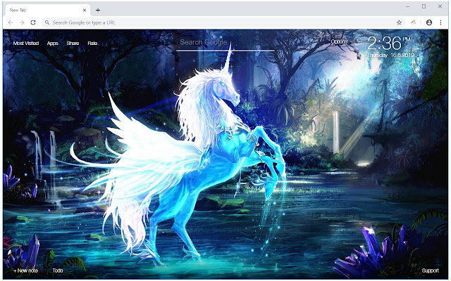 Unicorn Wallpaper HD Magic Horse Fairy Themes