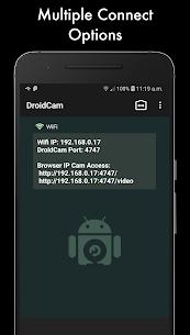 DroidCamX Wireless Webcam Pro 1