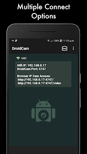 DroidCamX Wireless Webcam Pro APK Full Patched 1