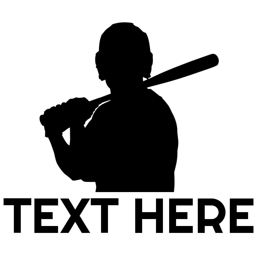 baseball logo bat