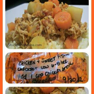 Chicken & Sweet Potato Stew.