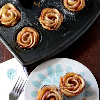 Baked Apple Roses – Apple Roses with Puff Pastry Recipe