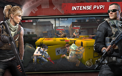 Left to Survive: PvP Zombie Shooter Mod 3.4.0 Apk [Unlimited Equipment + Burst without Shuffle Switch] 8