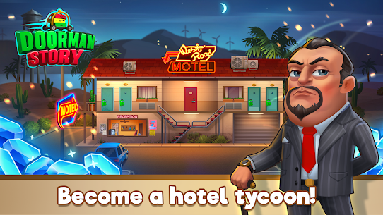 Doorman Story: Hotel team tycoon MOD (Diamonds/Gold) 4