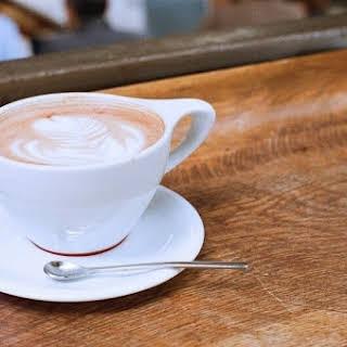 Creamy Raw Vegan Hot Chocolate.