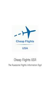 Cheap Flights USA 1