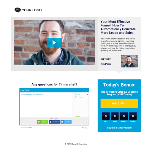 Landing page templates by leadpages fandeluxe Choice Image