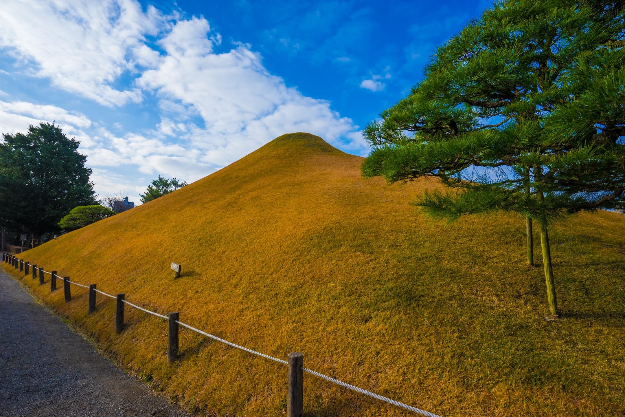 水前寺成趣園 富士山