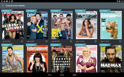 Next Issue Magazines- screenshot thumbnail