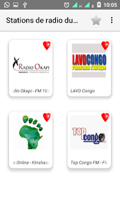 Stations de radio du Congo - náhled