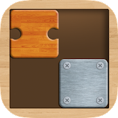 Slide Jigsaw : Classic Wooden Block Puzzle
